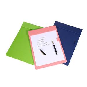 Wholesale handmade high quality luxury office stationery writing board clipboard