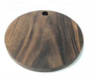 WN1907  Walnut Wooden Cutting Board, Chopping Block, Utility Paddle, Food Serving Trays