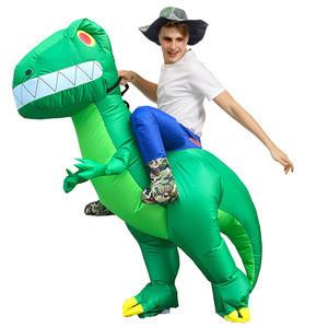 Women Men Children Mascot Inflatable T REX Anime Cosplay Dinosaur Adult Kids Dino Cartoon Halloween Costume