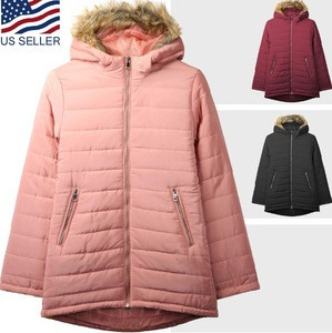 Women's Premium Lightweight Puffer Jacket with Detachable Fur Hood