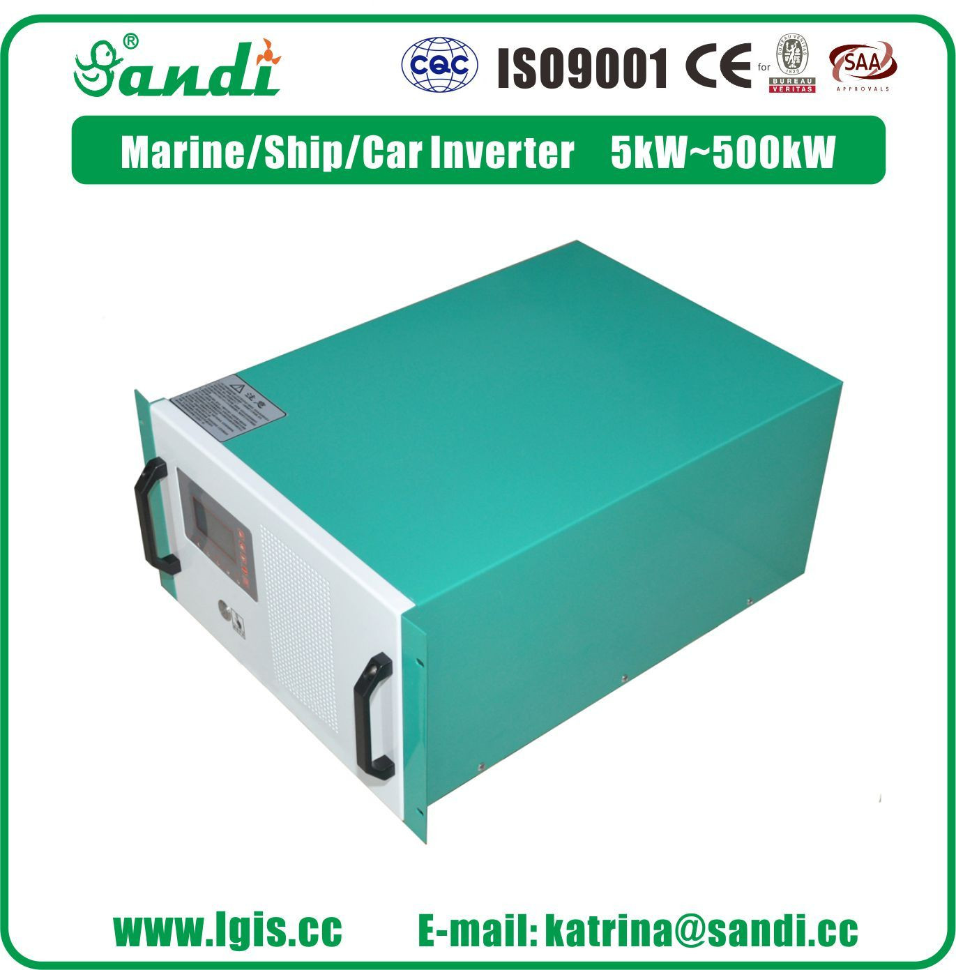 5KW/10KW/20KW Marine/Vessel/Boat/Ship Waterproof Off Grid Inverter