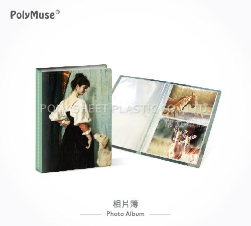 [PolyMuse] Photo Album-3x4-4x6-PP thickness 0.4mm-Made In Taiwan