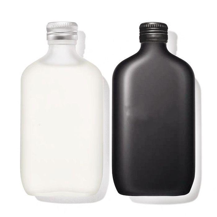 Matte Black Glass Bottle 250ml
