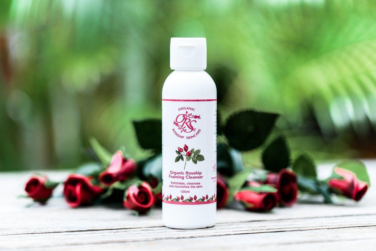 Organic Rosehip Foaming Cleanser 125ml