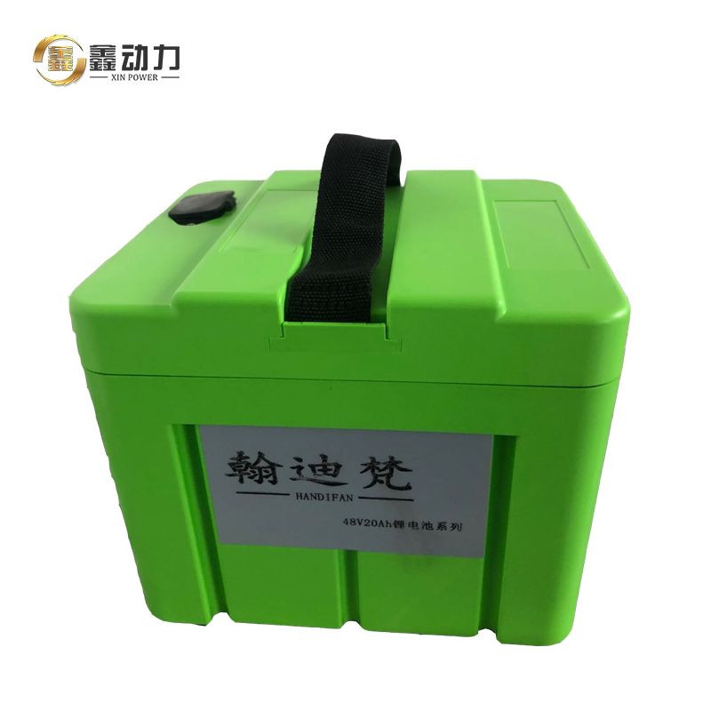 Lithium ion battery pack for electric scooter