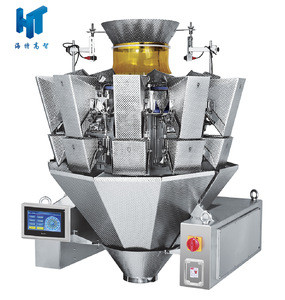 10 head waterproof combination weigher with LCD screen