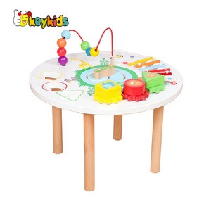 2018 new children wooden musical instrument,cheap hot selling wooden toy drum