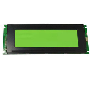240x64/128x64 graphic dot matrix monochrome display lcd module with LED backlight