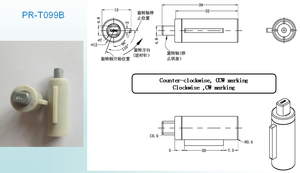Air Conditioner Parts Rotary Silicone Oil Hydraulic Damper /Hinge