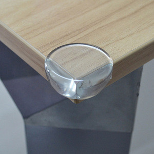 Baby safety table plastic transparente protection corner guards