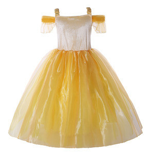 Beauty and Beast Dress Belle Cosplay Costume