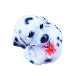 Best selling handmade crafts mini resin craft dog figurine, resin christmas figurines, best selling resin crafts