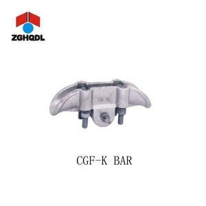 Cable accessory 500KV circuit corona-proof type aluminium aloy suspension clamps