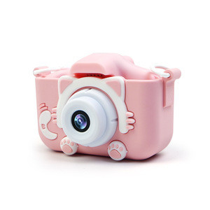 Cartoon Digital Camera Baby Toys Children Creative Educational Toy Photography Accessories with Built-in Battery Christmas Gift