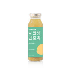 Chichye Danhobak 1000ml ( Sweet Rice Punch ) Pumpkin Korean Traditional Juice Fermented Rice Mixed Beverage Sikhye Drink