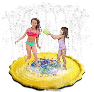 Children Outdoor Inflatable Sprinkle and Splash Play Mat