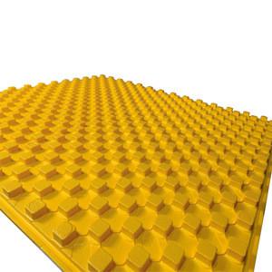 China high quality EPS underfloor heating insulation panel plate