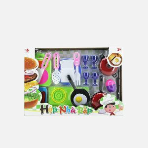 COOKING TOY SET, PLASTIC KITCHEN TOYS