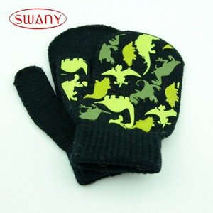 Eco-friendly high tensile cashmere gloves for kids