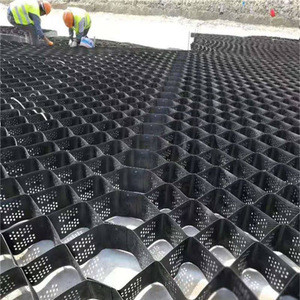 Factory supply HDPE high tensile strength geocell for road stabilization