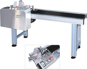 FH-FA350 TTO paging conveyor/refining machine/High speed plastic bag separator