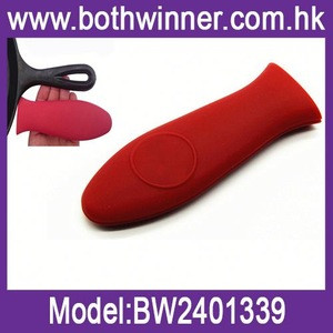 Heat insulation silicone cookware parts/pan holders h0t6V silicone handle for sale