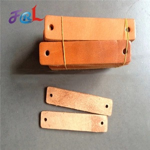 High quality durable cowhide brake pad for spinning
