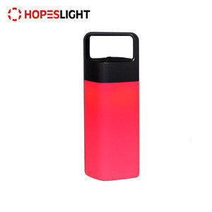 HOT SALE Portable 5w Rechargeable LED Camp Lamp Hiking Lantern Light with Wireless Power Bank for Camping Outdoor
