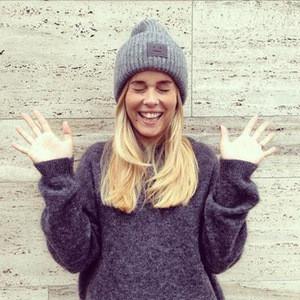 Hot Sale Winter Warm Smile Face Label Rib Knit Beanie Winter Beanie Hats Unisex