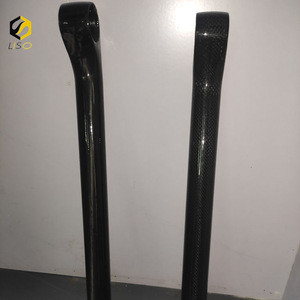 Hot selling bicycles stem custom made carbon fiber parts with high quality
