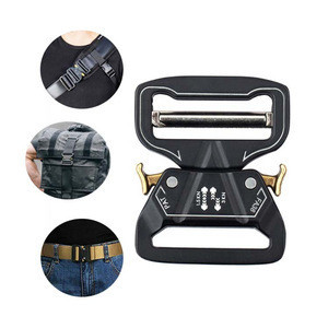 Hot Selling Sport Safety Belt Buckle Side Release Tactical Military Luggage Belt Buckle
