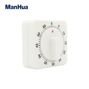 Manhua T-203  small mini mechanical 60 minutes timer ring cook timer