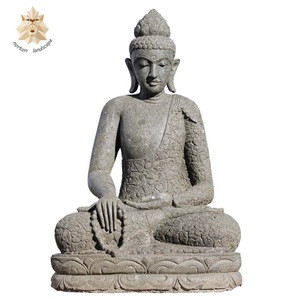 Marble large stone Buddha statue for sale NTBS-068Y