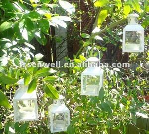 Metal Tealight Hurrican Lantern for Garden