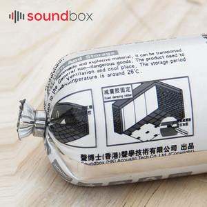 New goods sound insulation material, acoustic damping sealing glue