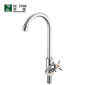 New kitchen accessories deck mounted plastic faucet with single handle for kitchen