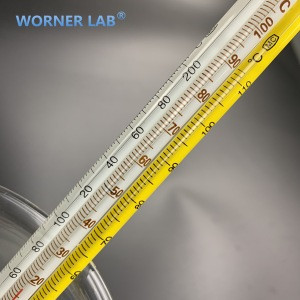 Outdoor household glass thermometer 0-100C