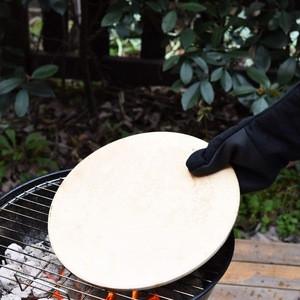Pizza Grilling Stone Round Cordierite Pizza Stone