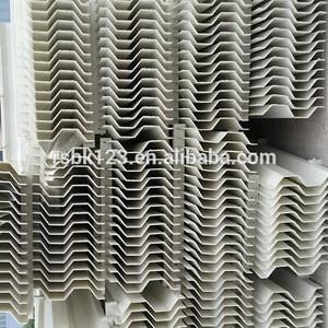 Plate drift eliminator demister pad mist eliminator for cooling tower