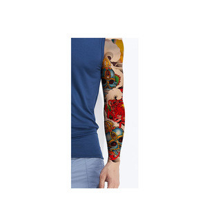 TQB-41-80 full arm/body temporary color  tattoo sticker temporary waterproof custom for men/women color sticker tattoo