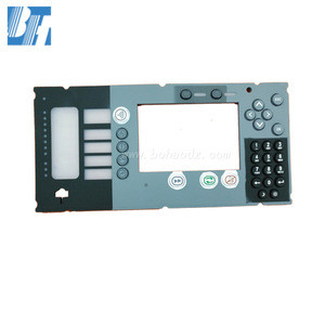 Train Silicone membrane switch keypad silicone rubber button for choochoo Plastic keys for iron horse