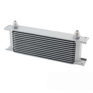 Universal 13 Rows Aluminum Gearbox Engine Oil Cooler For Race Cars Motorsports