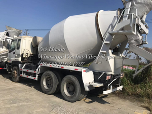 Used Isuzu Concrete Mixer Truck with 6 Cylinder and 10 Cylinder for sale