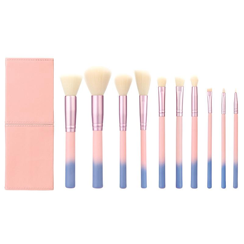 Vegan Makeup Brush Cosmetic Brush Travel Brush with Portable Bag