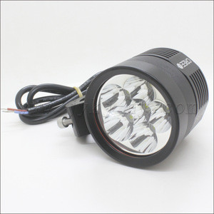 Waterproof ip67  with 6 white LED BicycleHeadlight   Bike Front Light Lamp