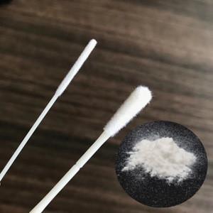 White nylon flock powder for fabric/medical nasal oral swab
