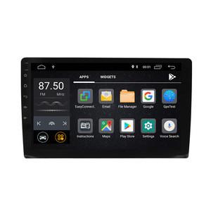 Wholesale 9''  Slim body universal car gps multimedia navigator Android9.0  2+16GB  car video dvd player