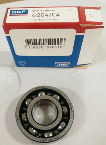 SKF 6204 C4 BALL BEARINGs
