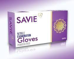 SAVIE Nitrile Examination Gloves