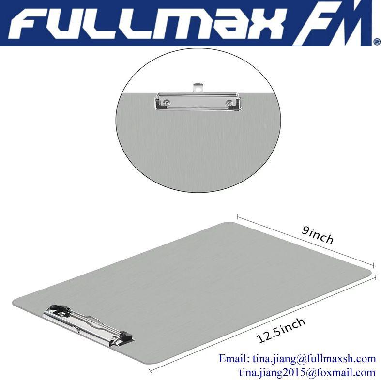 A4 Letter Aluminum Clipboard
